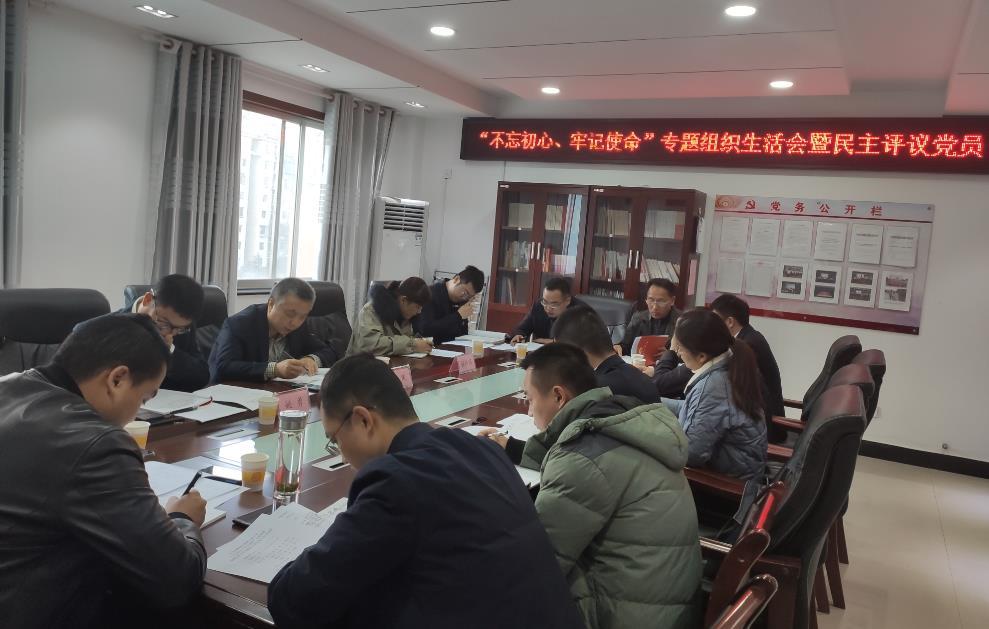 """jituan公司各党zhi部召kai""""不wang初心 牢记使命""""主题教yu专题组织生活会"""